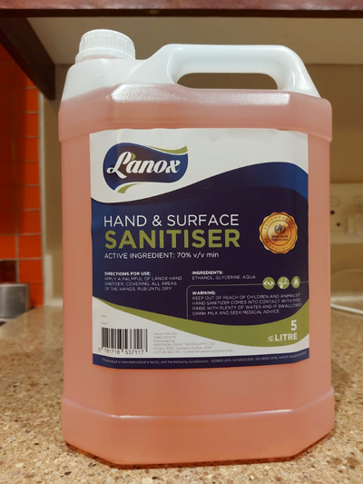 hand and surface sanitiser