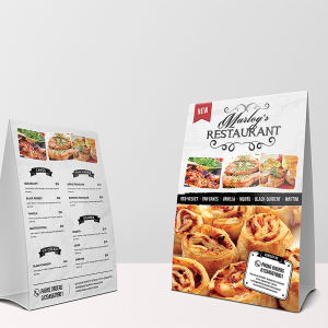 printed tent cards