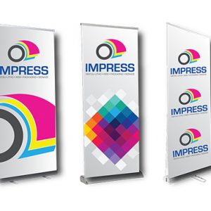 printed impress banners
